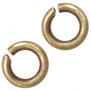 Fornituras metálicas DQ anilla 3mm bronce viejo (sin níquel)