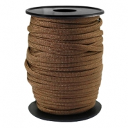 Cordón trendy Paracord 4mm marrón bronce oscuro